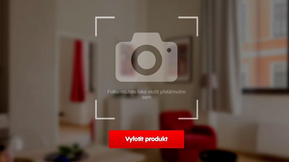 Mall.cz testuje vyhledávání produktů podle fotek