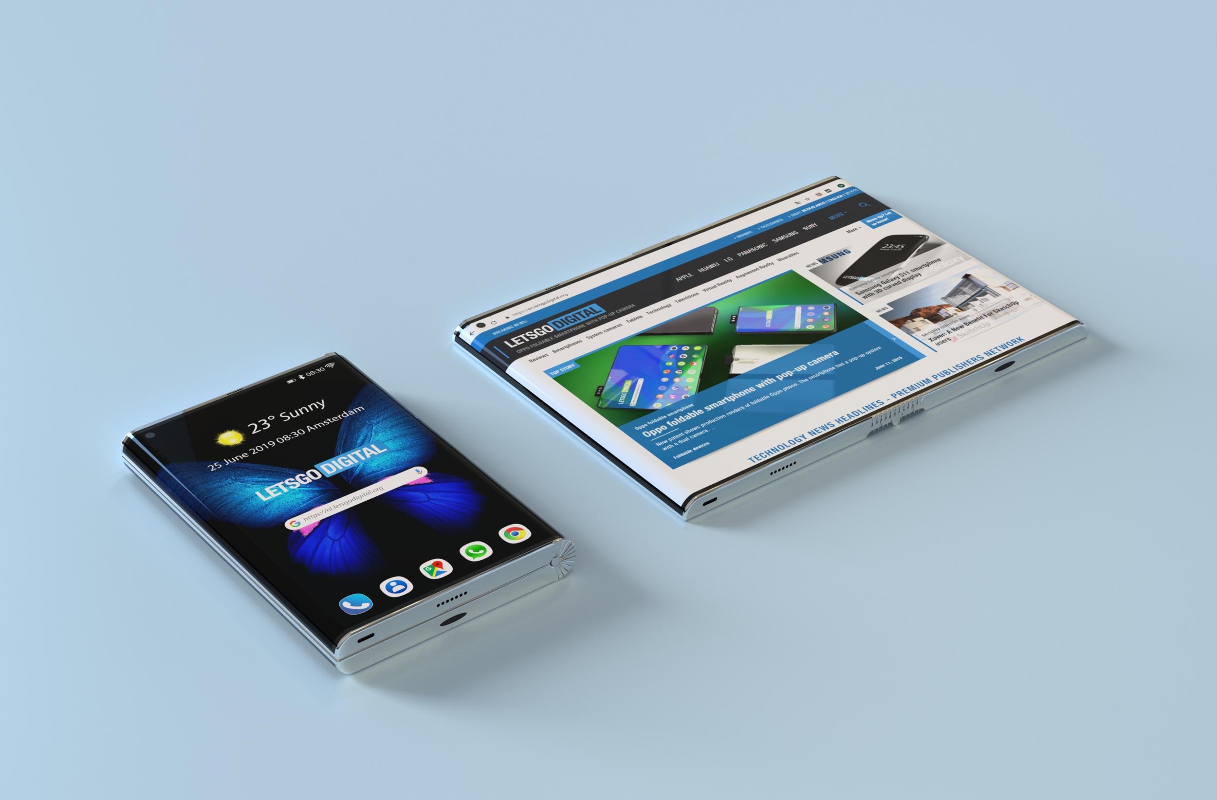 Samsung si pohrává s konceptem ohebného Edge tabletu