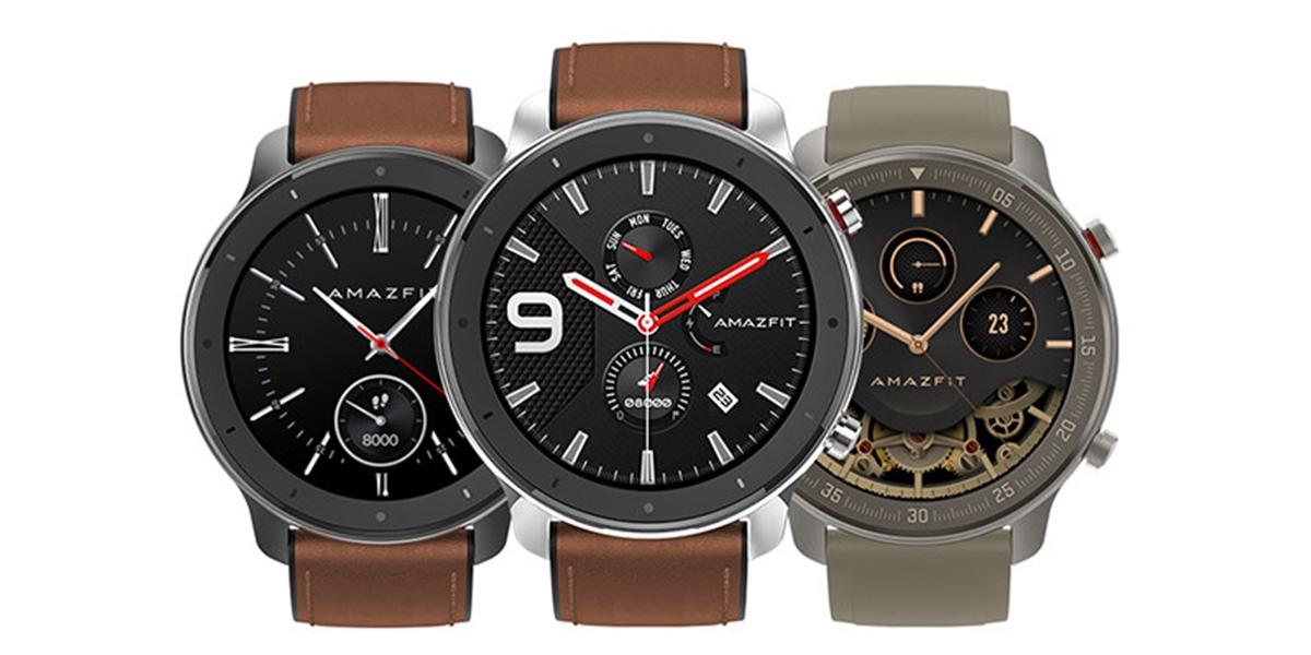 Huami představilo nové hodinky Amazfit GTR