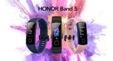 Honor Band 5 přichází na český trh, stojí 999 Kč [aktualizováno]