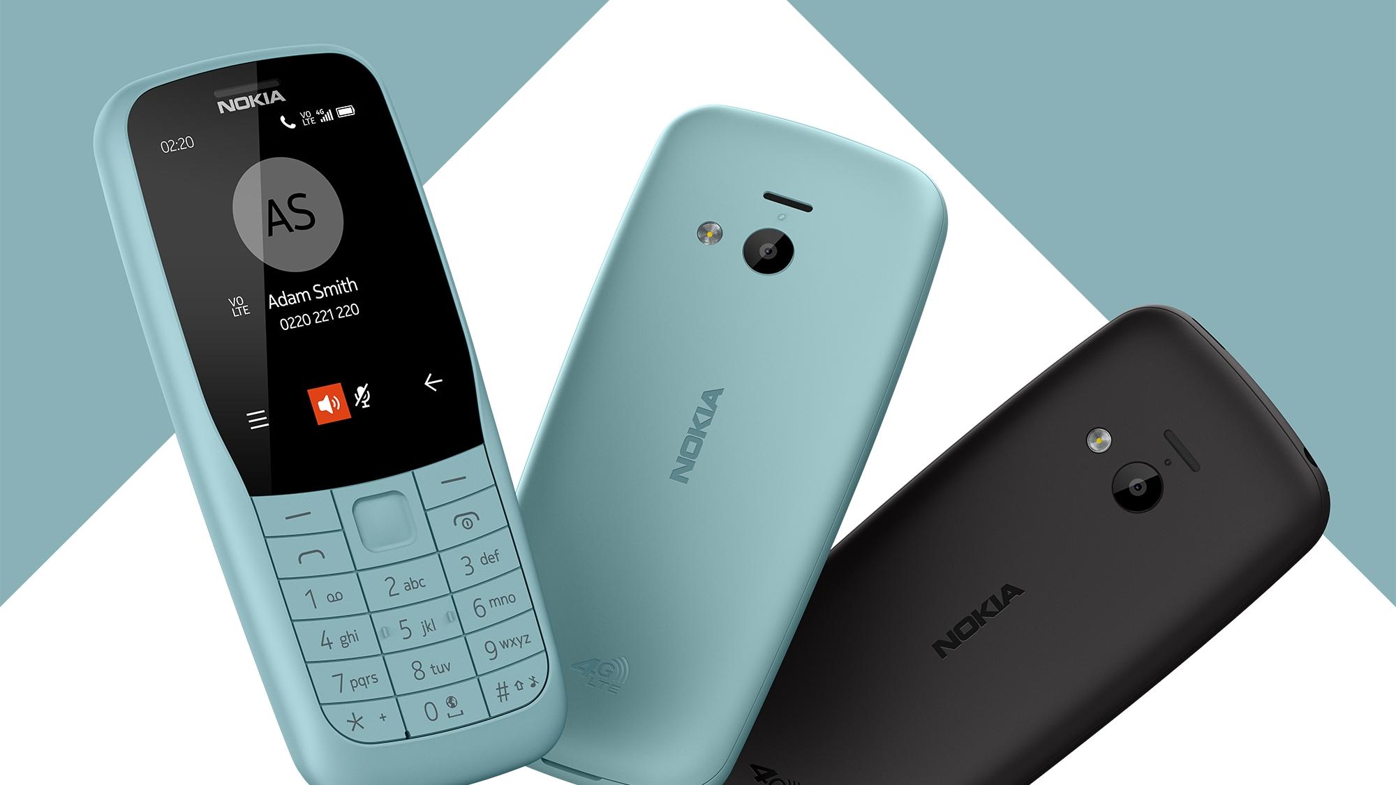 Nokia 220 4G představena, nabízí LTE konektivitu