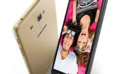 Samsung Galaxy J MAX se sedmipalcovým displejem