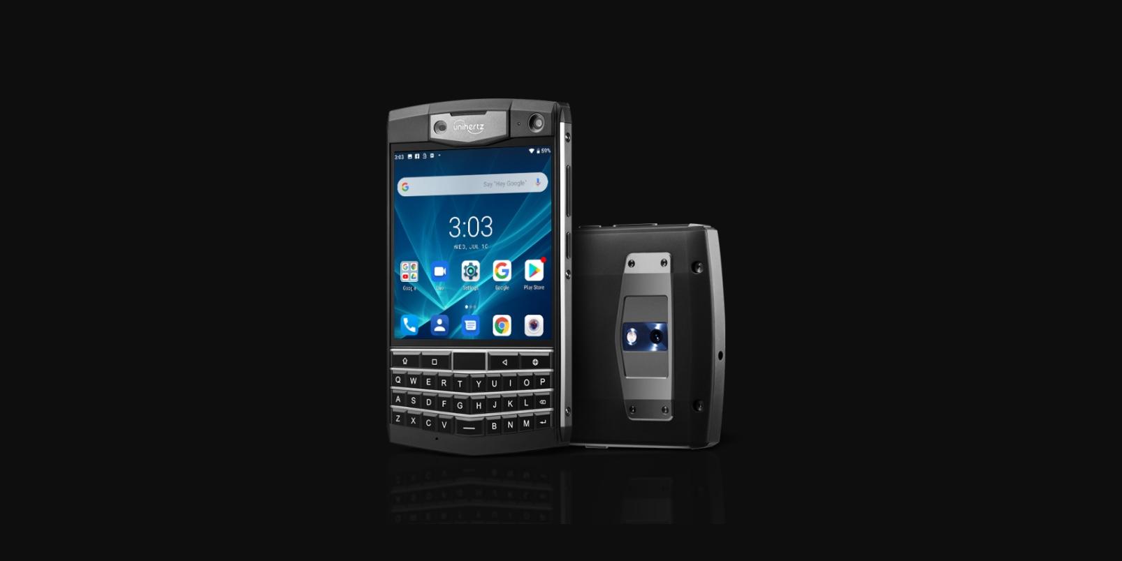 Unihertz Titan bude konkurencí pro tlačítkové smartphony BlackBerry