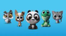 SwiftKey představilo funkci Puppets, animovaná zvířátka