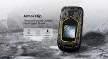 Ulefone Armor Flip – véčko s obrněným tělem