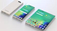 Samsung možná použije jinou konstrukci pro rozložitelný mobil