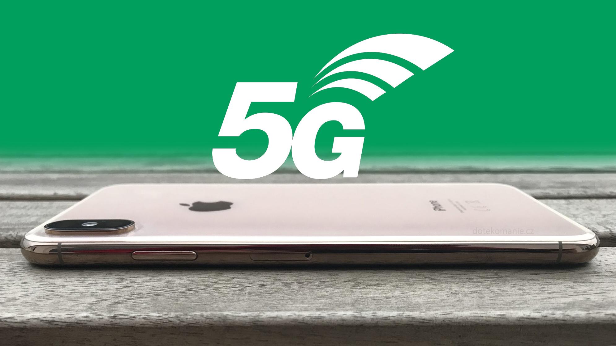 Všechny iPhony 2020 mají mít 5G