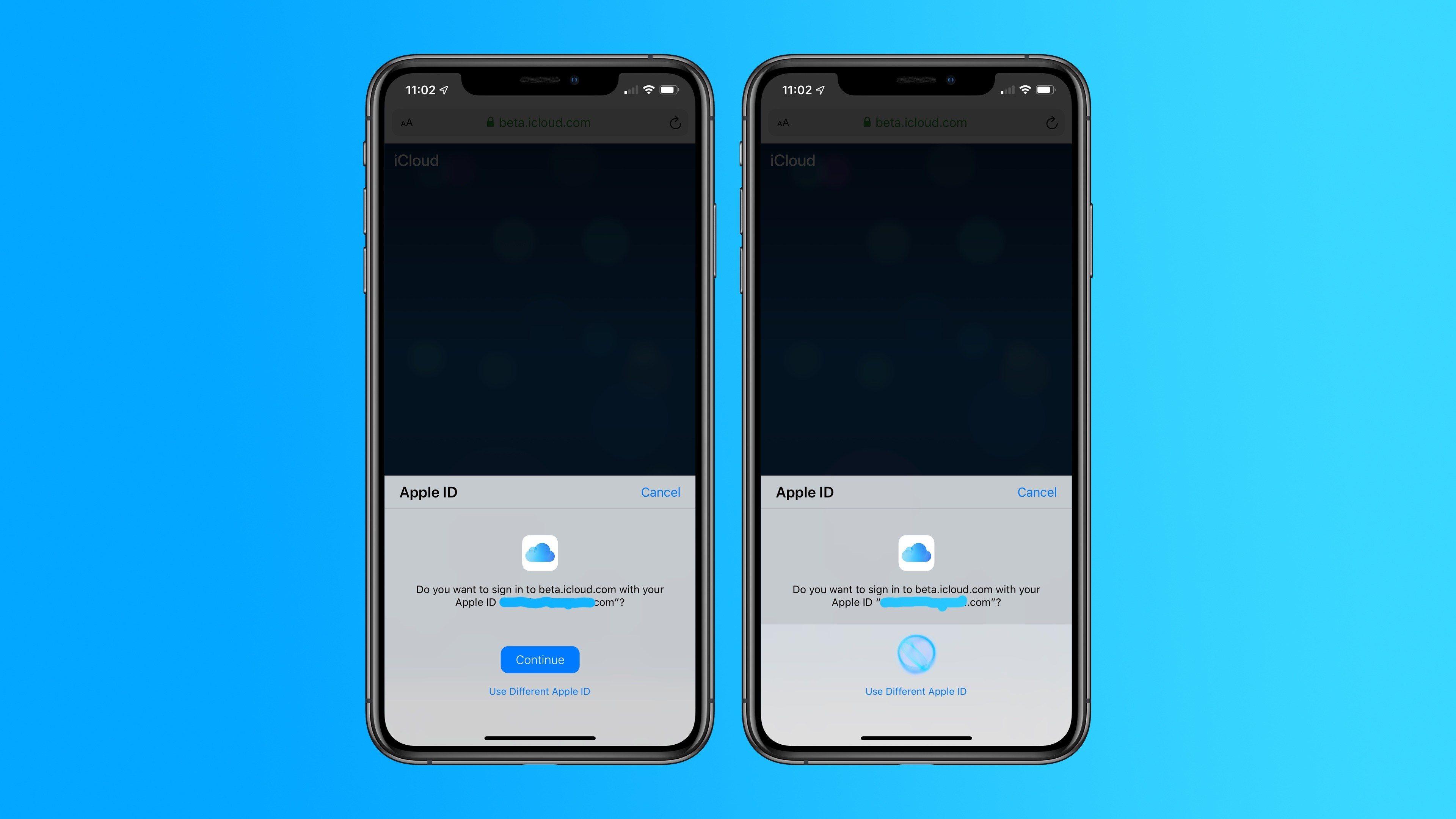Apple testuje nové přihlašování do rozhraní iCloud