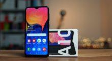 Chystanou novinku Galaxy A10s poodhaluje Google