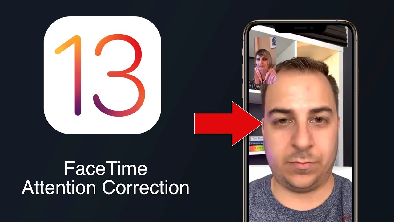 FaceTime Attention Correction simuluje přímý oční kontakt