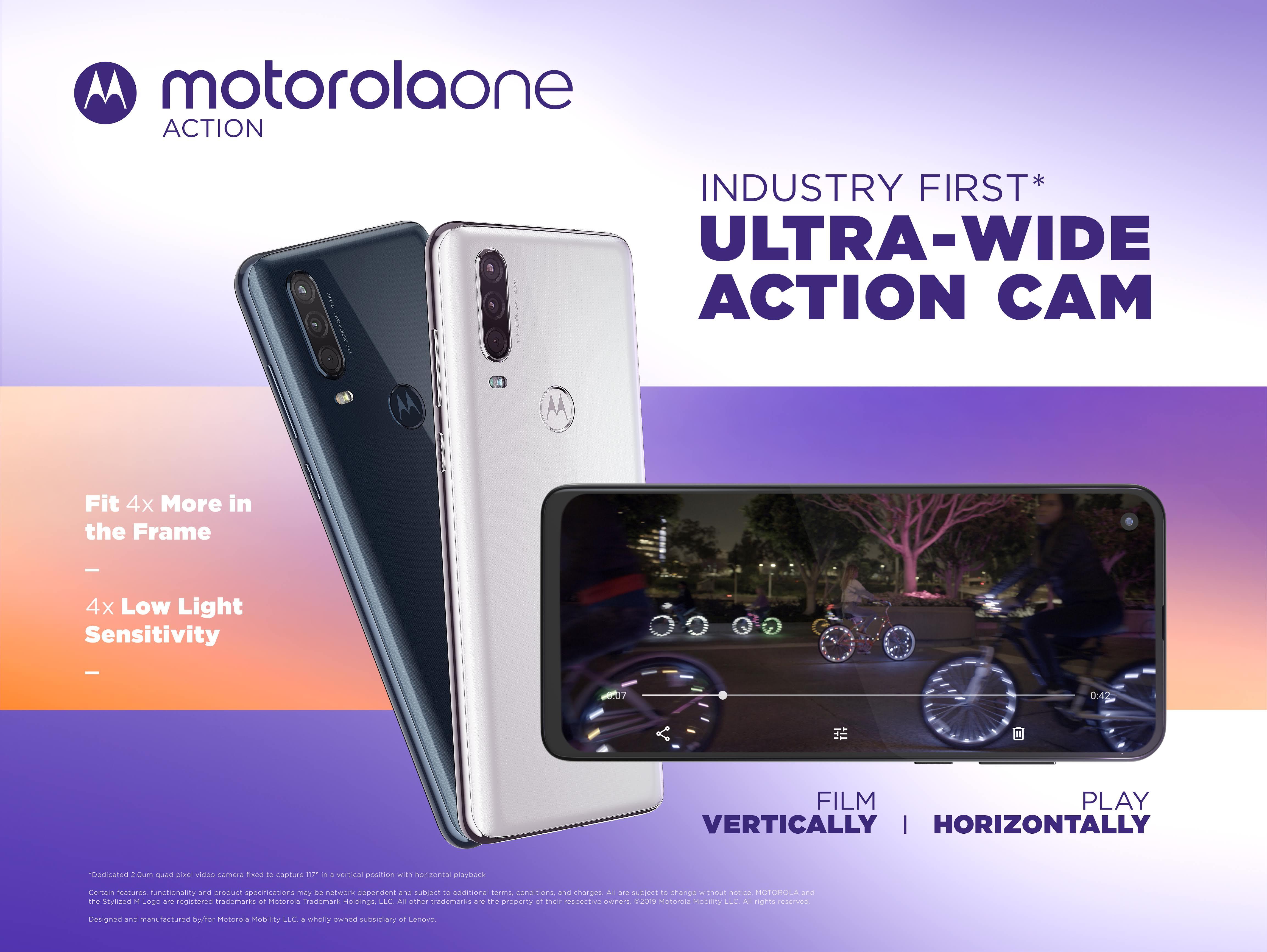 Motorola One Action představena, přijde na 6 990 Kč