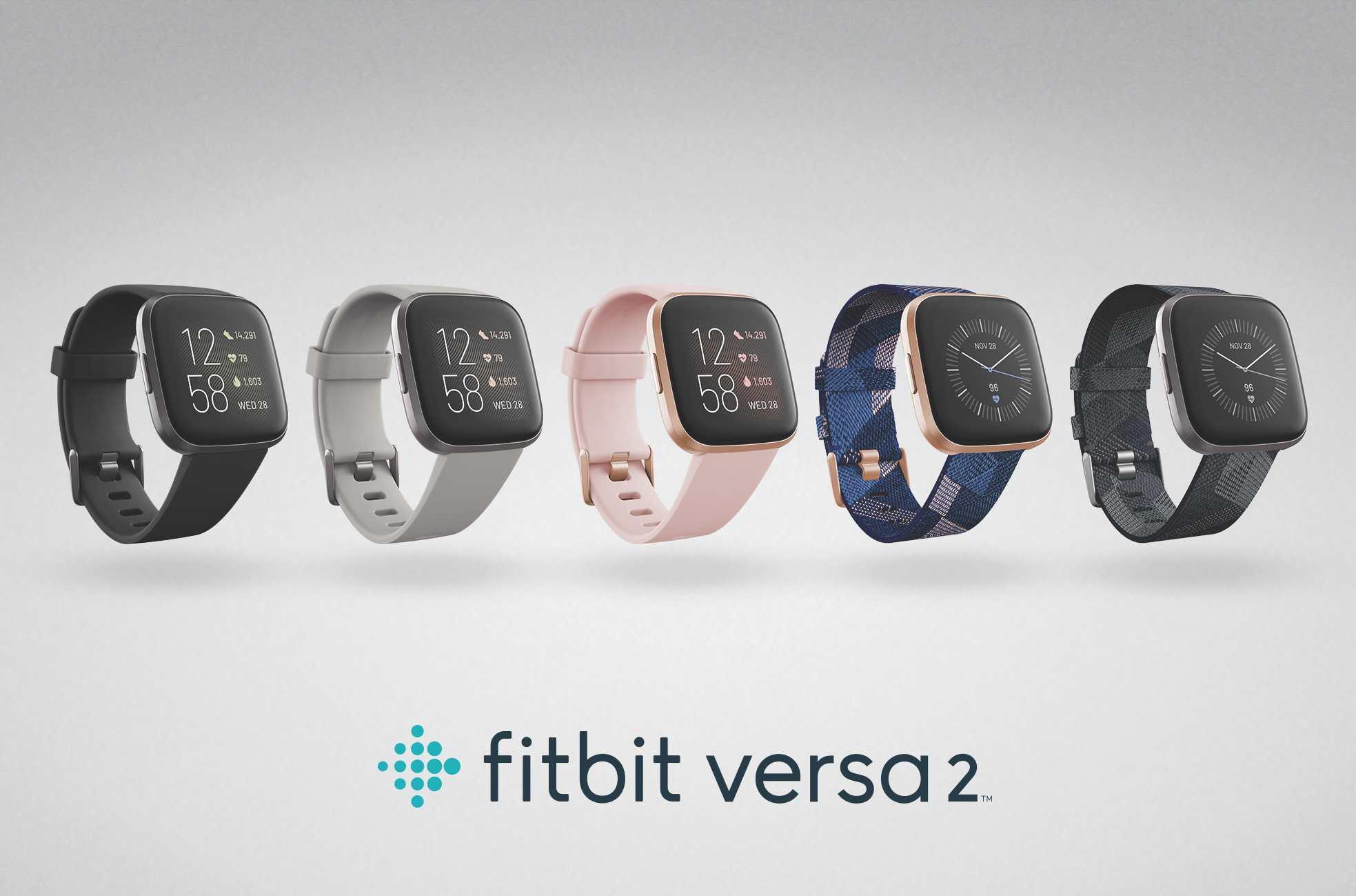 Fitbit Versa 2 jsou nové chytré hodinky, stojí 199,95 eur