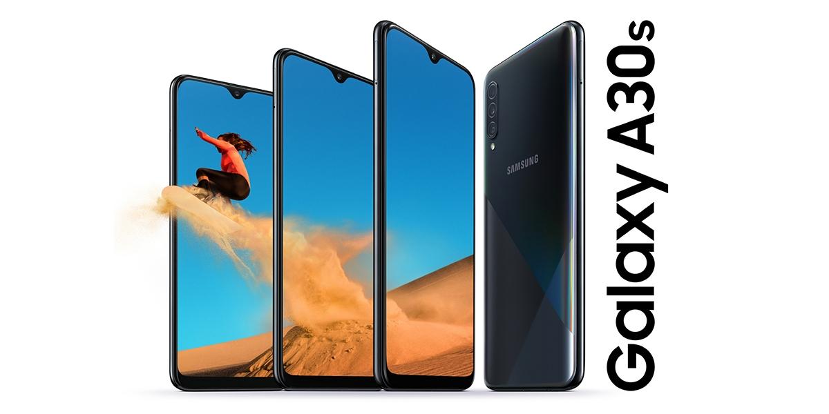 Samsung představil Galaxy A30s, nabízí nový design a funkce