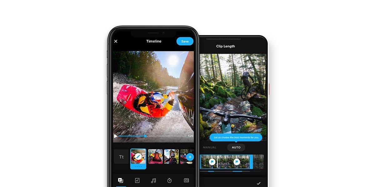 GoPro aktualizuje svou aplikaci, přináší nový design a funkce