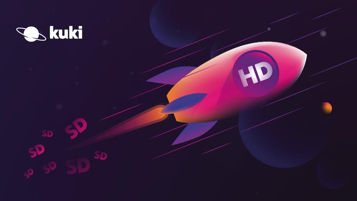 Internetová televize Kuki nabízí i aplikaci do telefonů