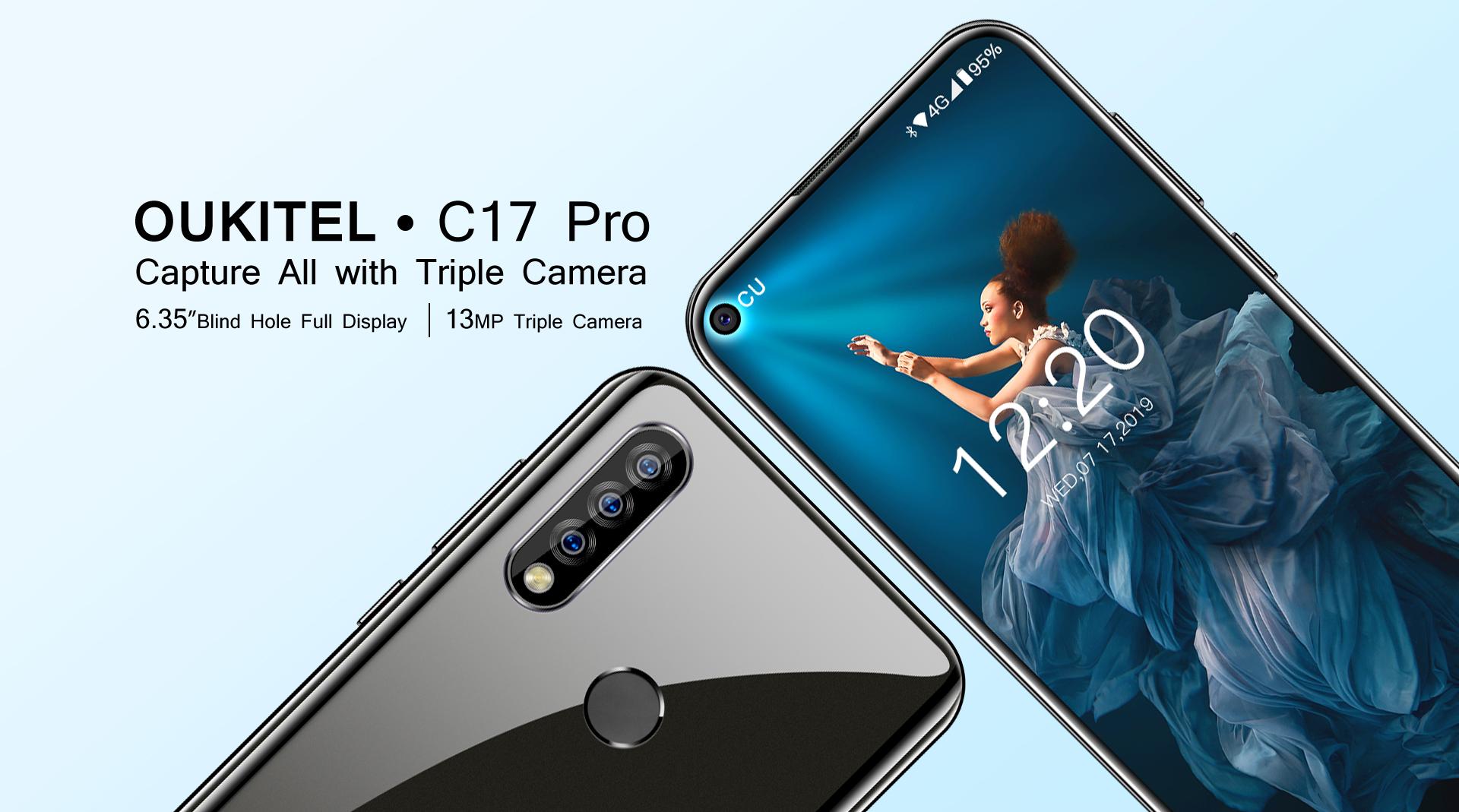 Oukitel představil model C17 Pro
