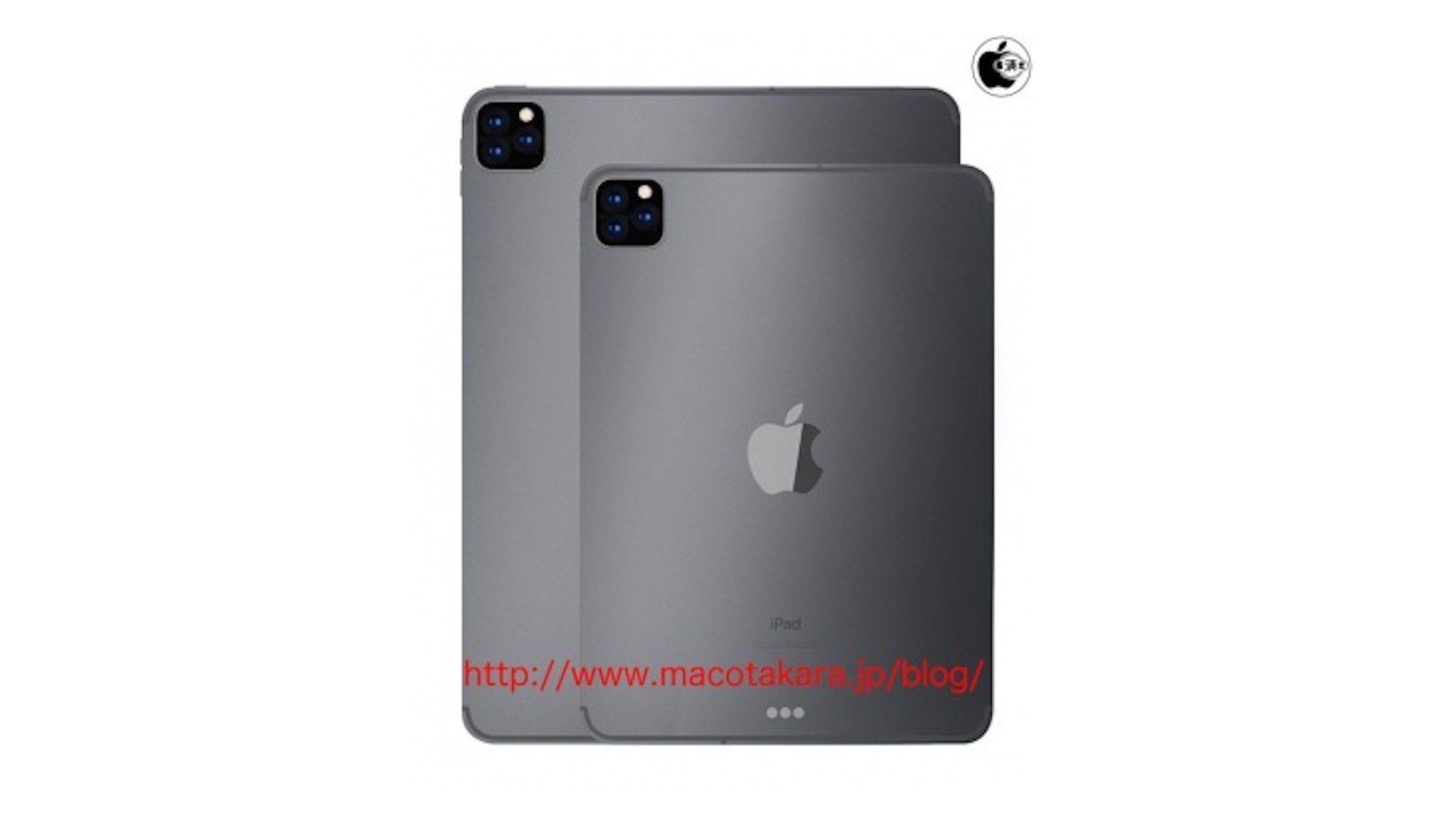 iPad Pro by údajně mohl nabídnout tři fotoaparáty