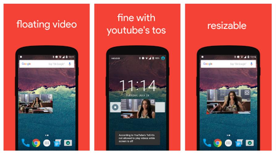 Aplikace Flytube umožňuje přehrávat YouTube videa i z domovské obrazovky