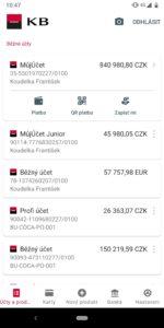 Mobilní banka