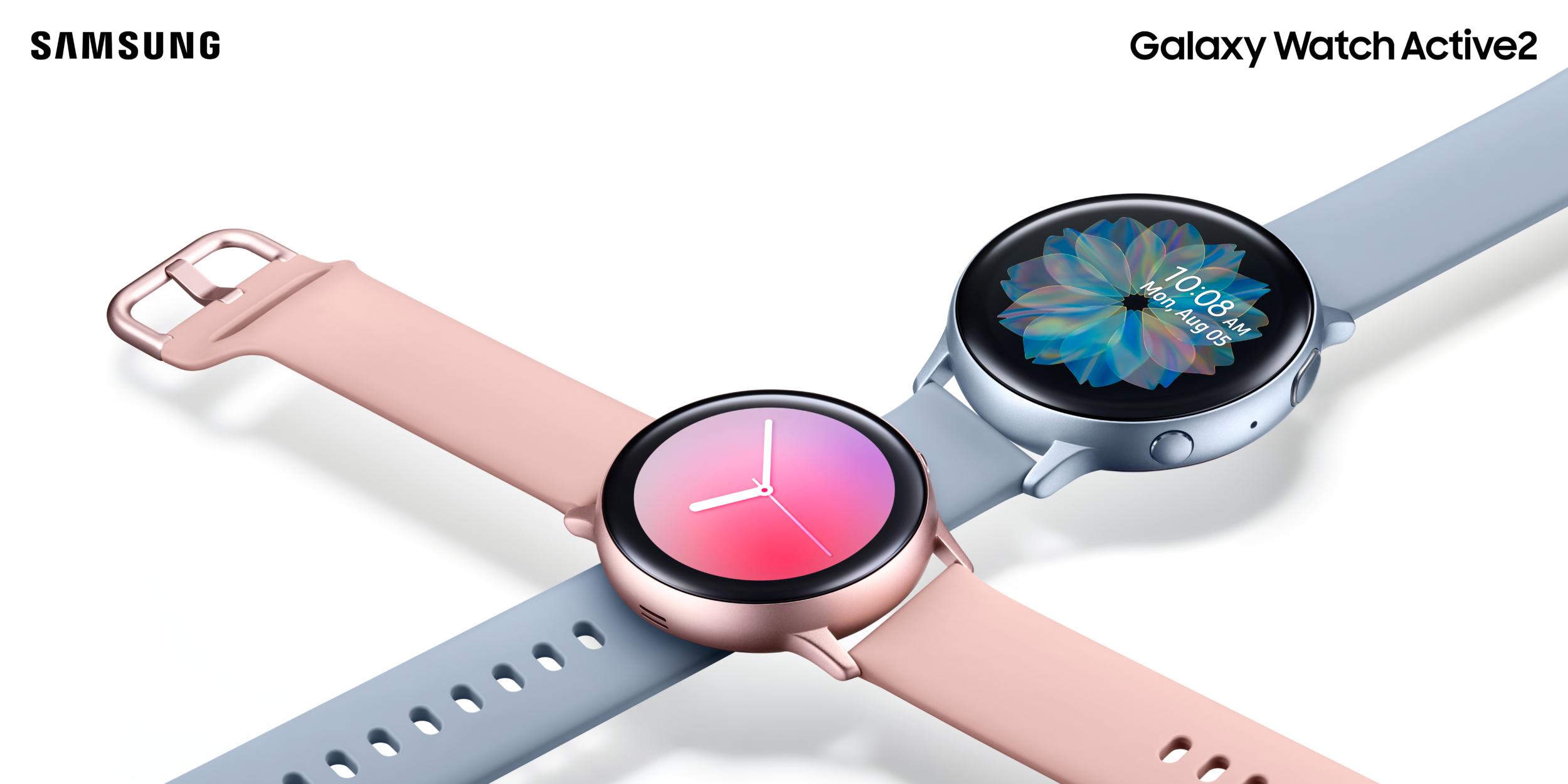 Samsung představil Galaxy Watch Active2, cena začíná na 7 499 Kč