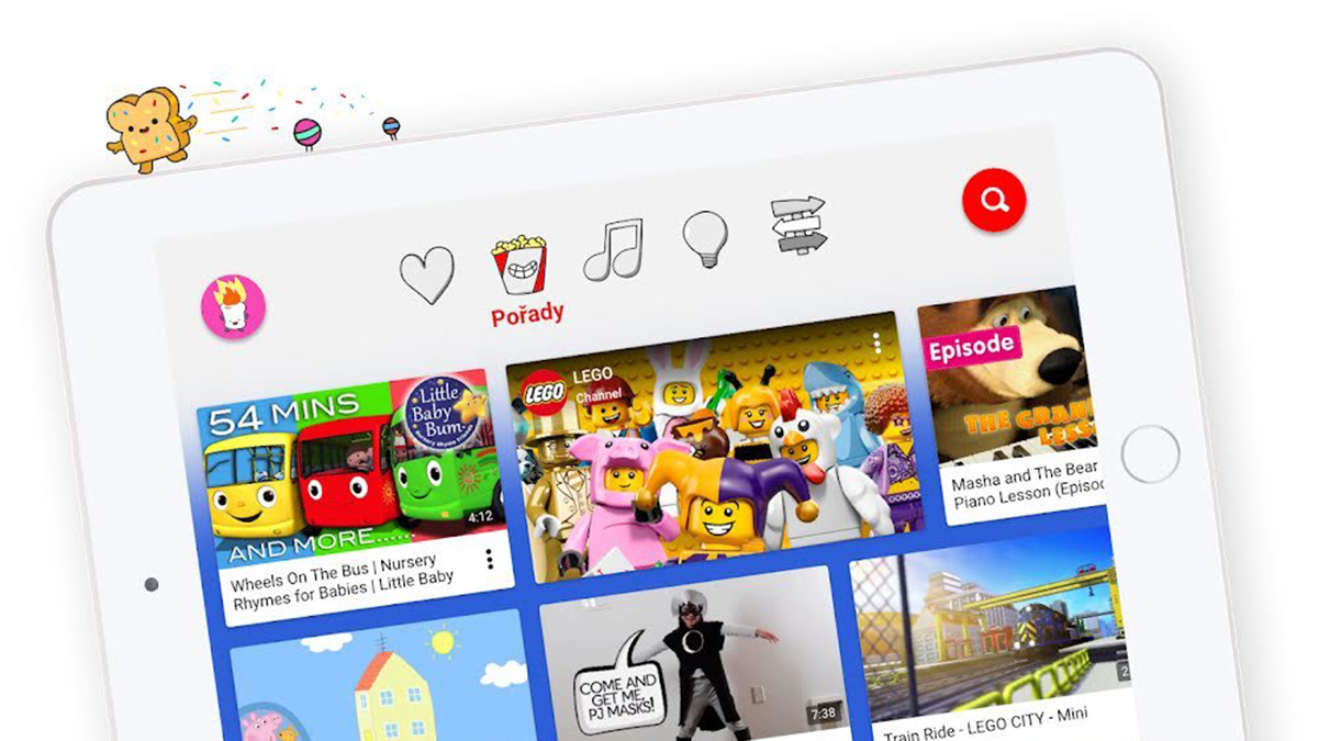 Youtube Kids se dostane na web a získává nové filtry