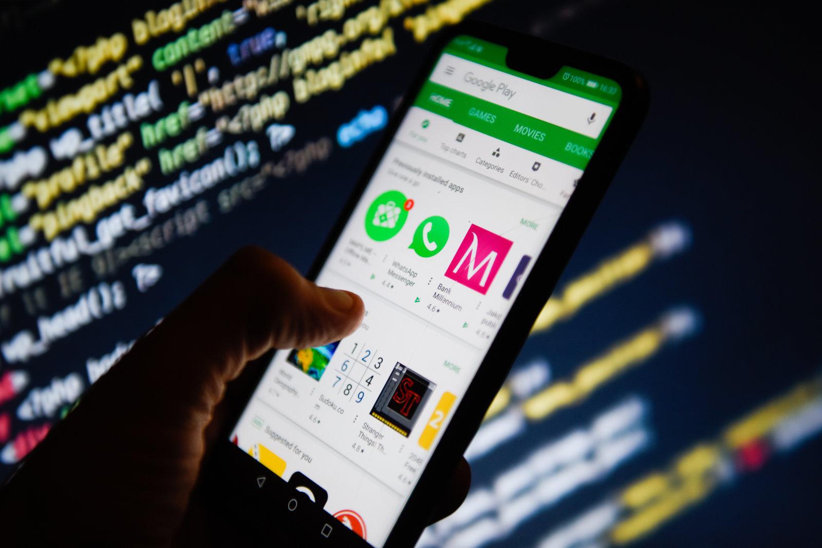 Aplikace s adwarem i nadále úřadují, Obchod Play se jich zbavuje