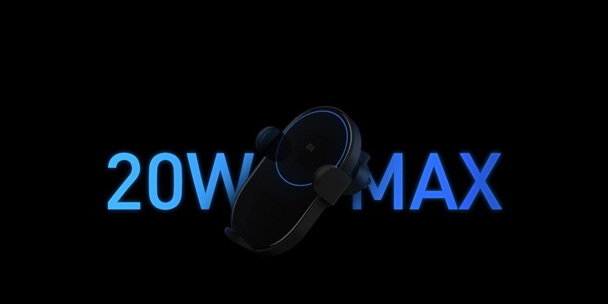 Xiaomi bezdrátová nabíječka do auta nyní v akci za 597 Kč! [sponzorovaný článek]