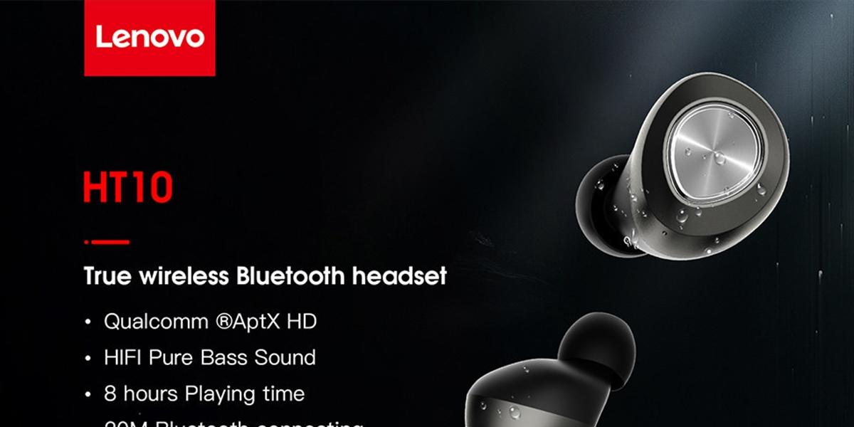 Bezdrátová sluchátka Lenovo HT10 jen nyní za 930 Kč! [sponzorovaný článek]