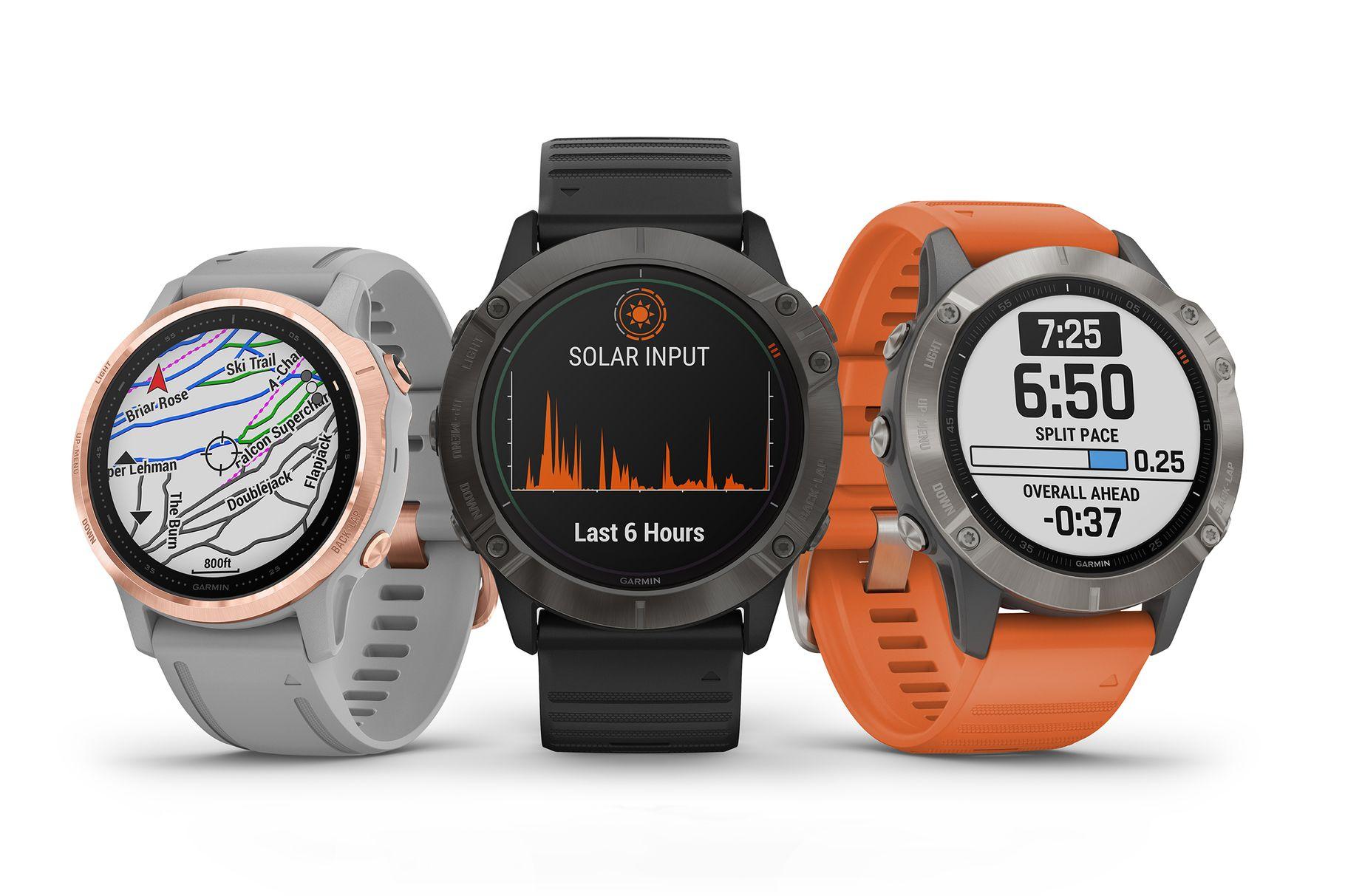 Garmin představil nové Fenix hodinky se solárním dobíjením