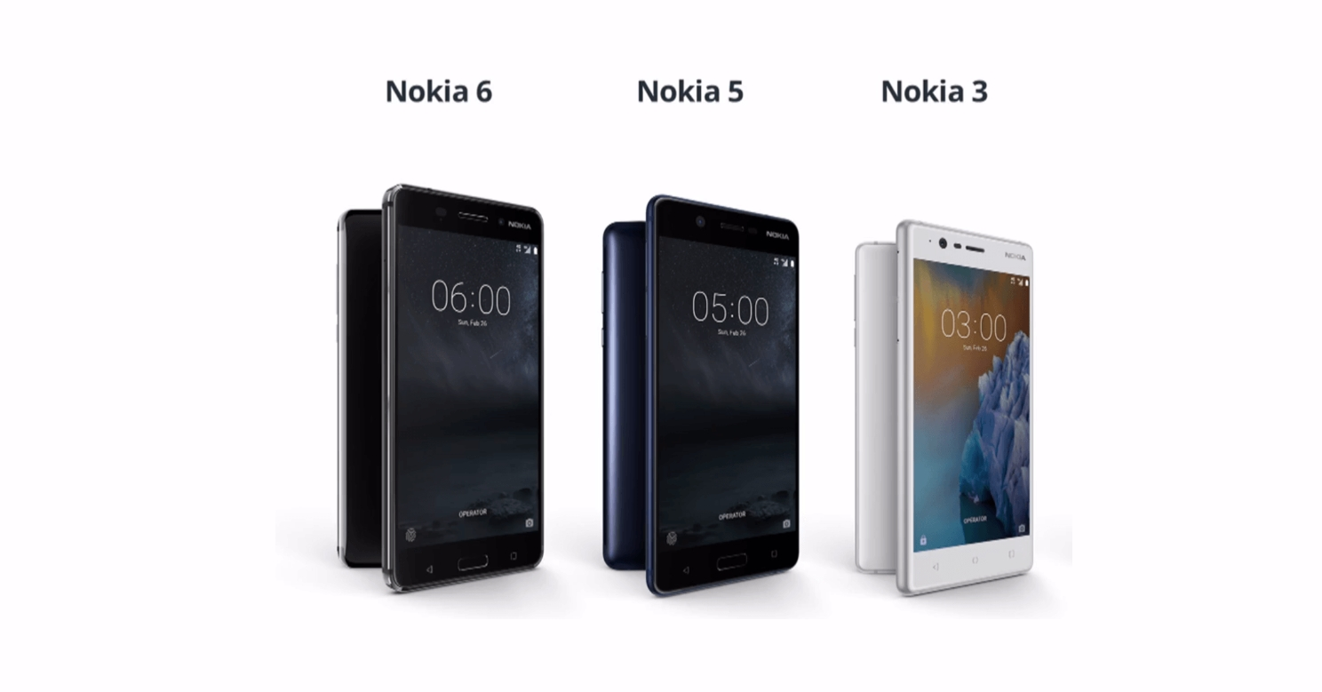 Mobily Nokia 3, 5, 6 a 8 budou dostávat aktualizace o rok déle