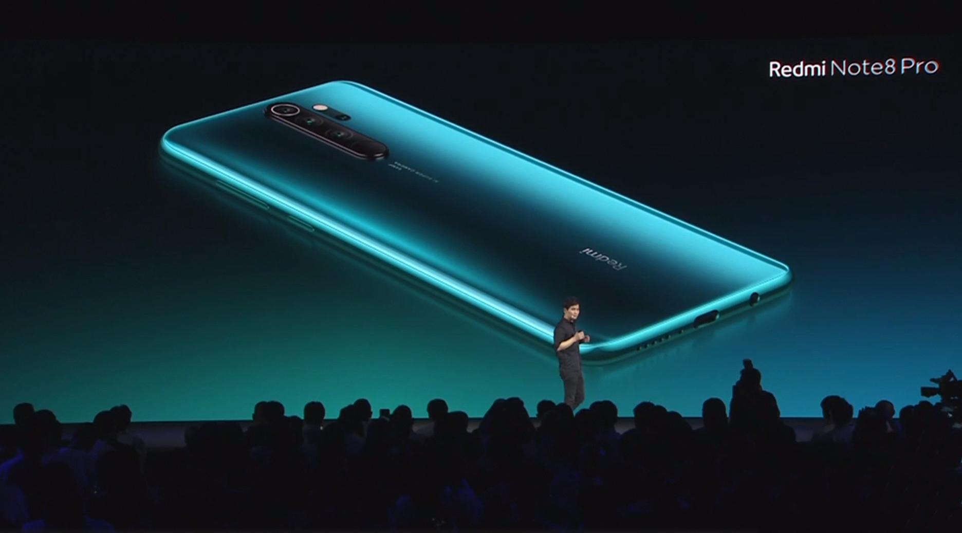 Redmi Note 8 Pro oficiálně, poprvé s 64 MPx