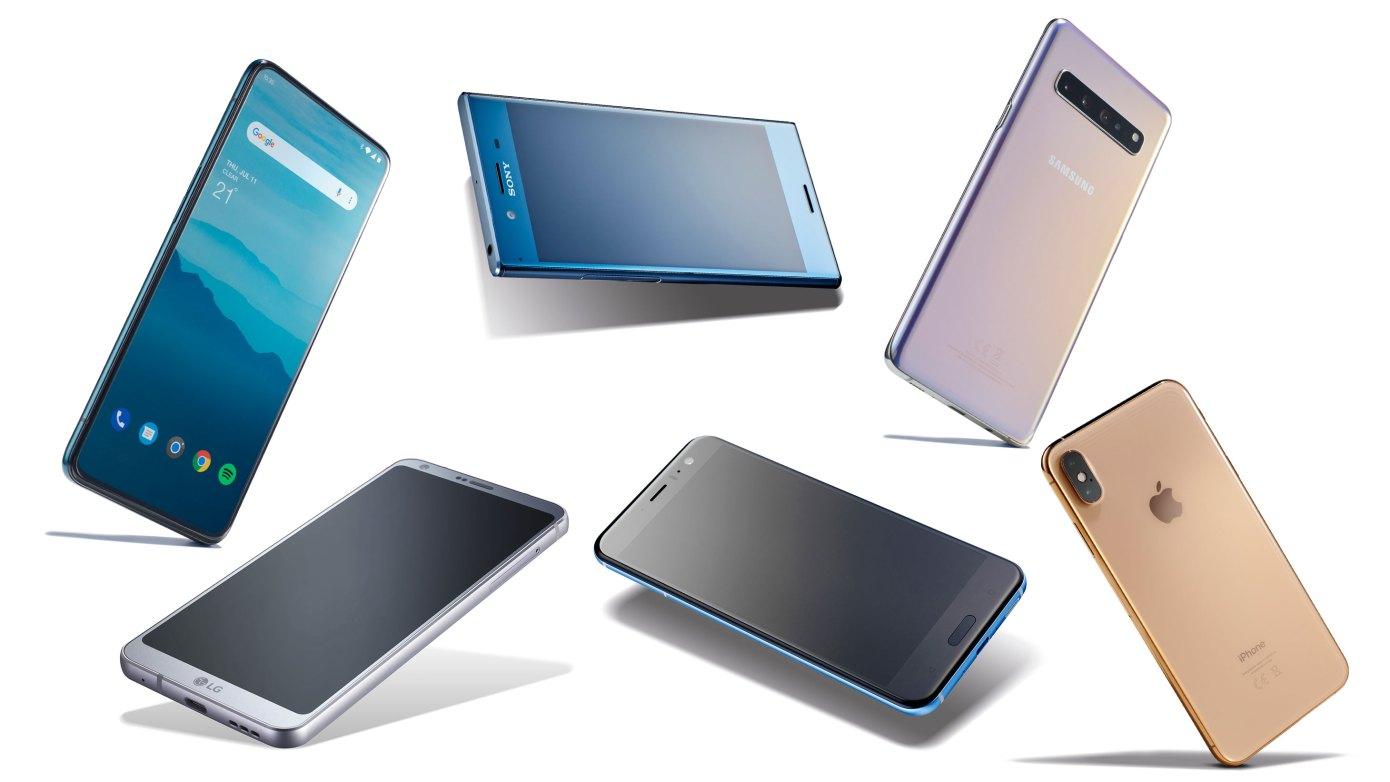 Celosvětové prodeje mobilních telefonů opět poklesly