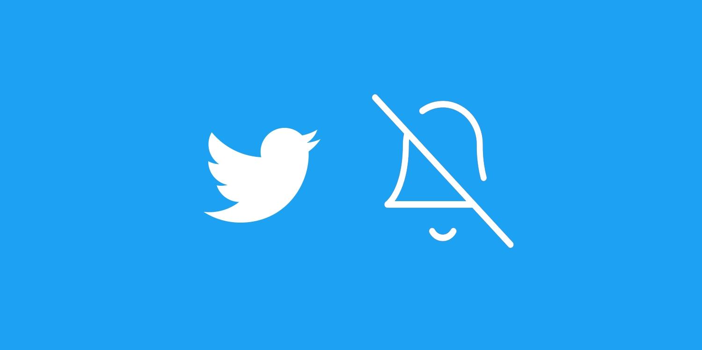 Oficiálně: Twitter testuje pozastavení notifikací [aktualizováno]