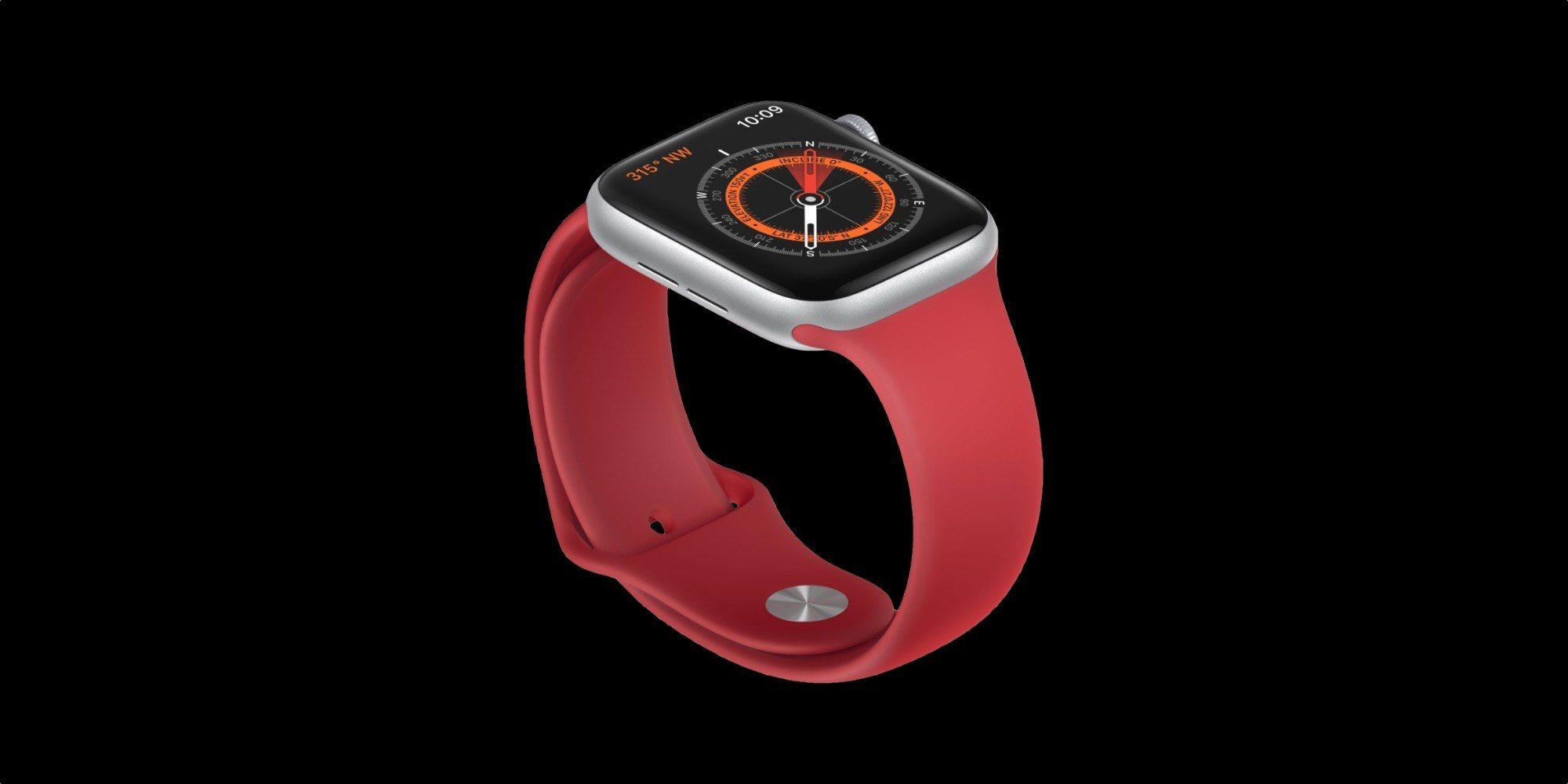 Originální Apple Watch Series 5 pásky ovlivňují kompas