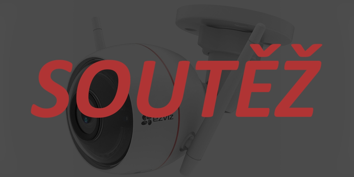 Bezpečnostní kameru EZVIZ Husky Air vyhrává… [aktualizováno]