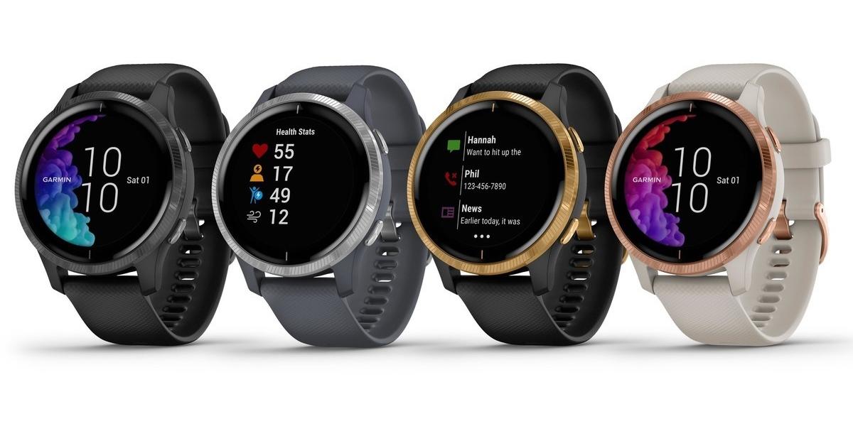 Garmin Venu hodinky nabízejí 5denní výdrž, GPS a AMOLED displej [IFA]