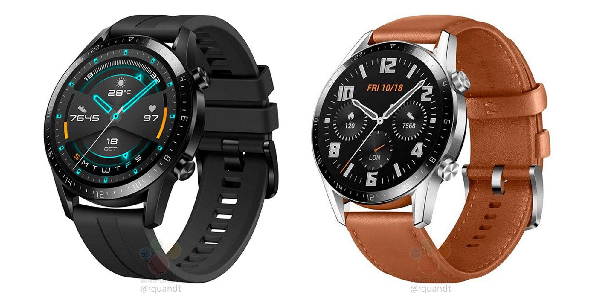 Huawei Watch GT 2 se ukazují na tiskových renderech [aktualizováno]