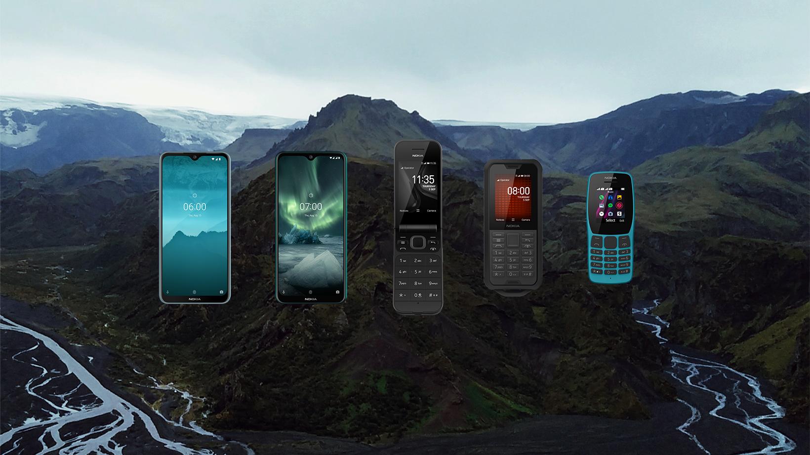 """Nokia obohacena o """"véčkový"""" model, k dispozici je i odolný mobil [IFA]"""