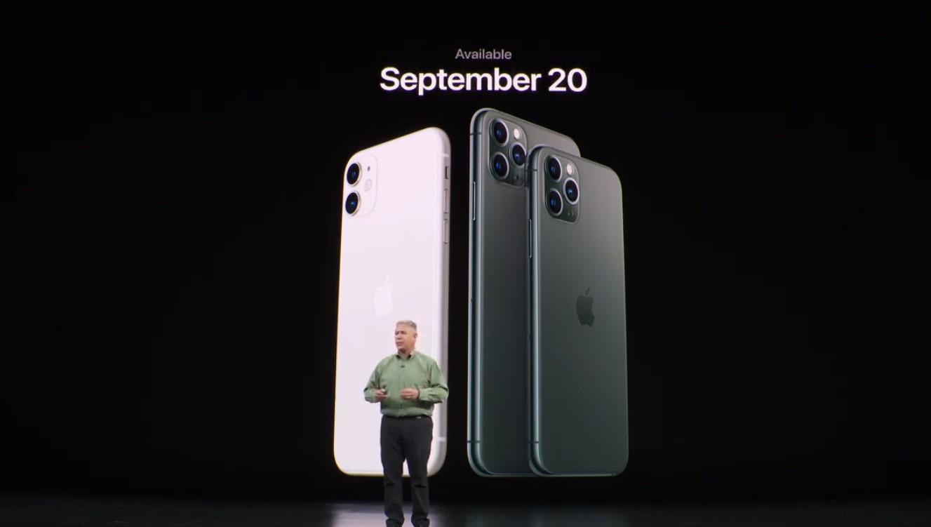 Oficiálně: iPhone 11 Pro a iPhone 11 Pro Max, cena začíná na 29 990 Kč