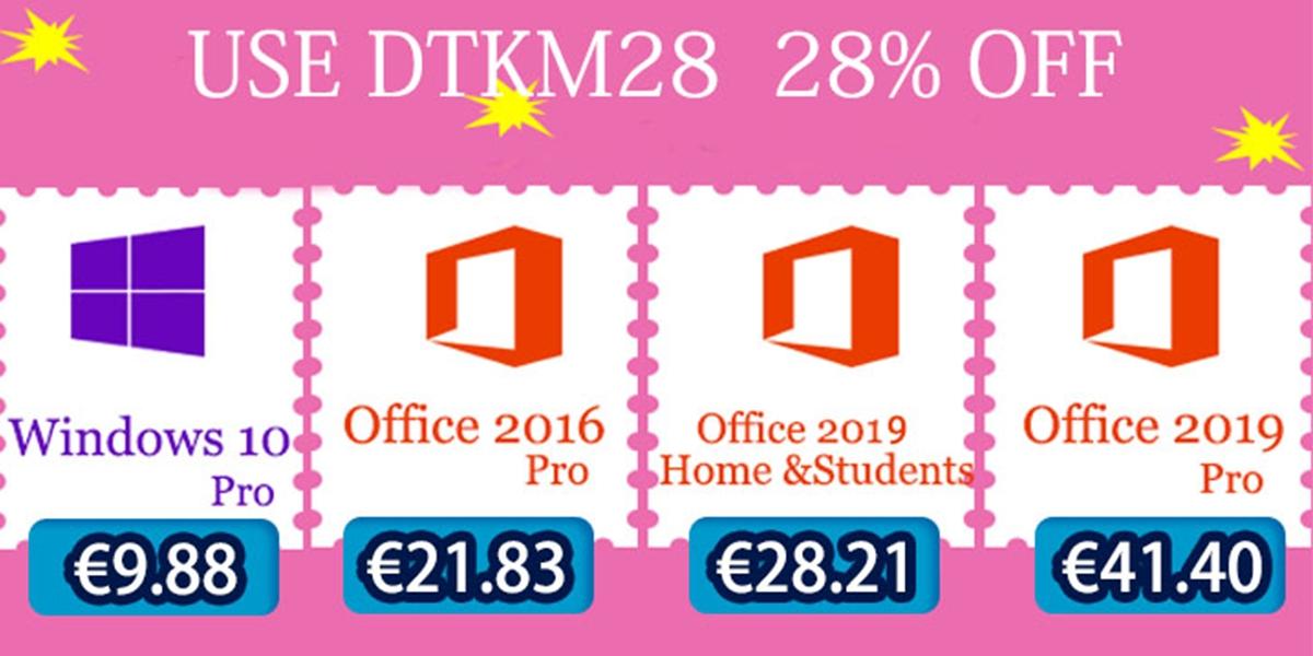 Originální Windows 10 a další produkty už od 9 EUR [sponzorovaný článek]