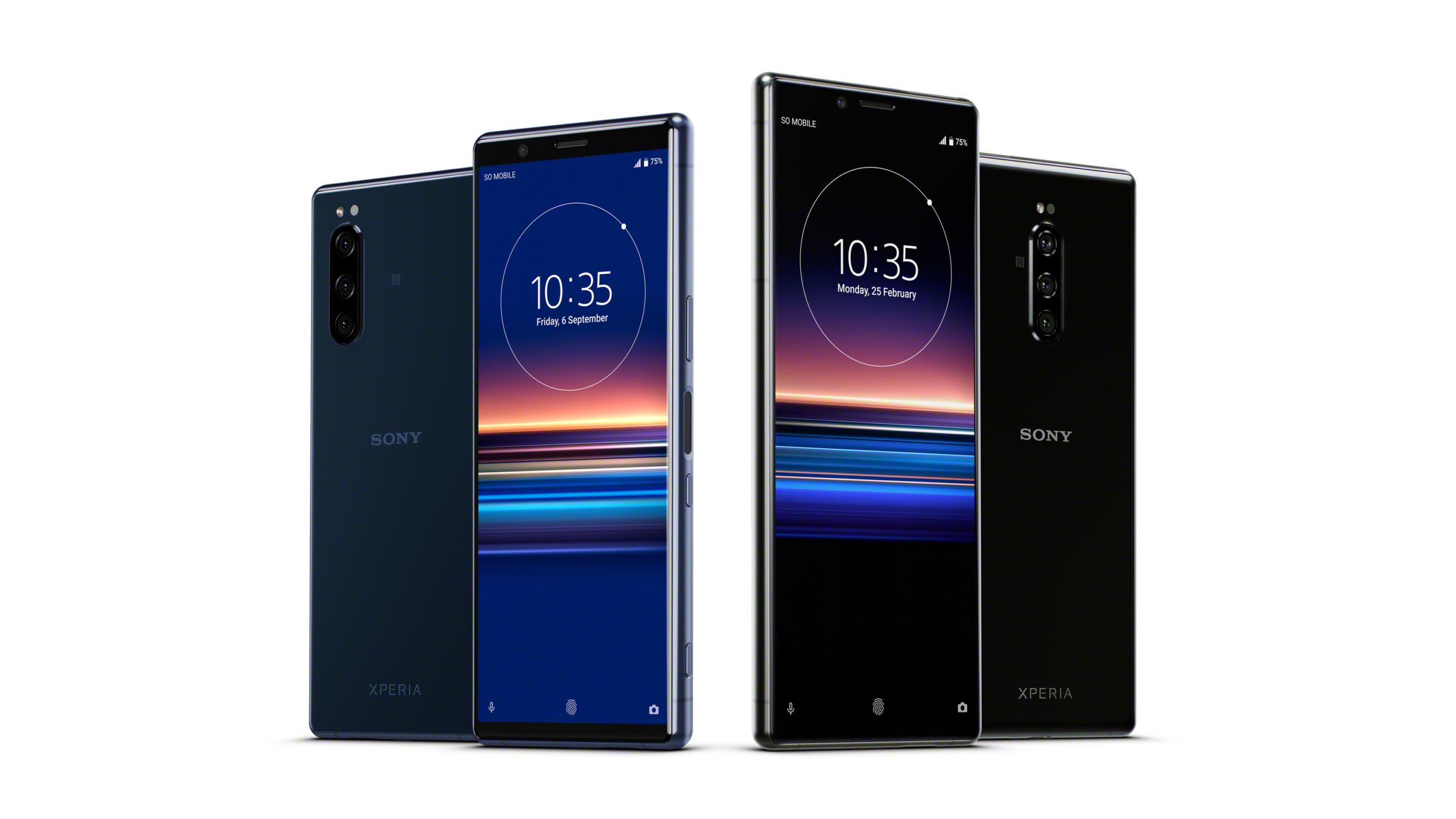 Sony Xperia 5 představena, přijde na 19 990 Kč [IFA]