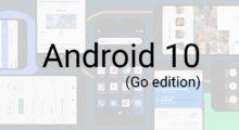 Google představil Android 10 (Go edition) pro levné mobily