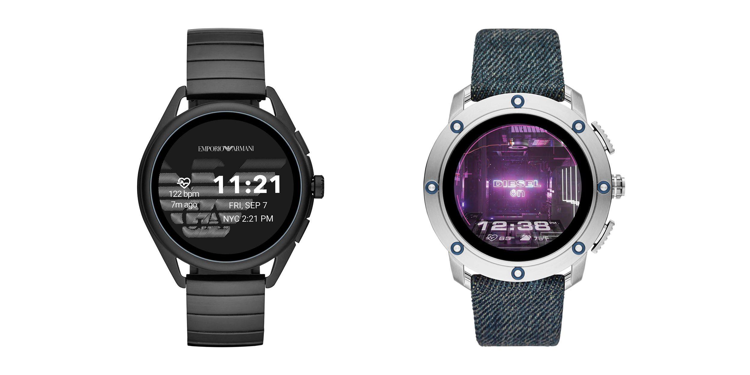Diesel Axial a Emporio Armani Smartwatch 3 jsou luxusní chytré hodinky [IFA]