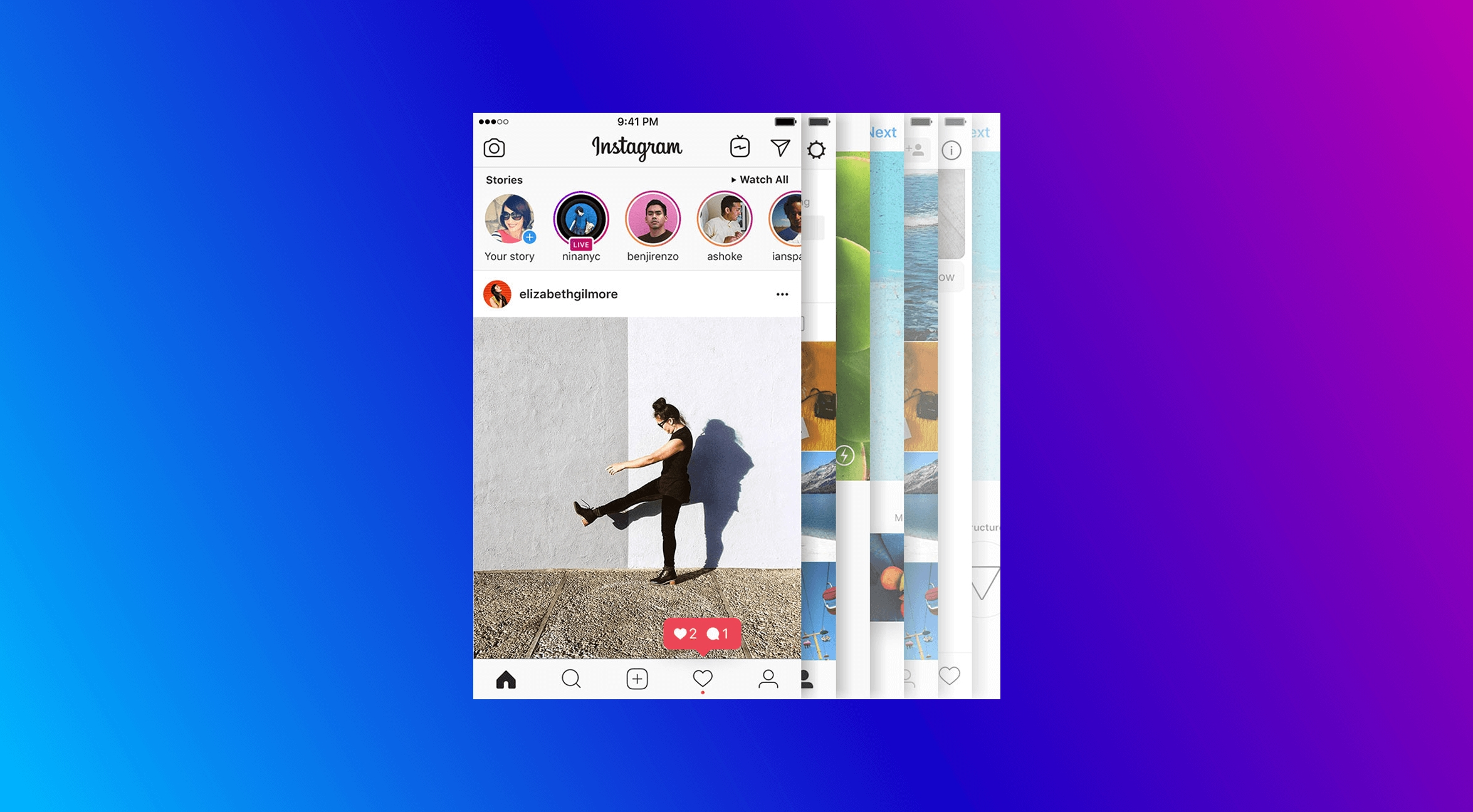 Instagram si pohrává nejen se skupinami u sledujících