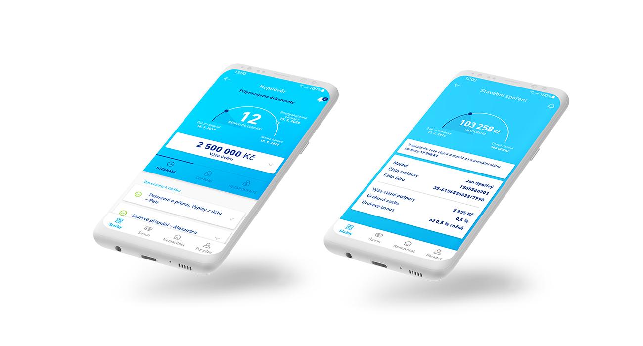 Modrá pyramida spouští vlastní aplikaci MP Home