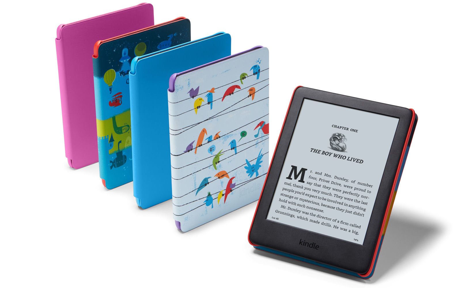 Amazon přivádí na svět Kindle Kids Edition