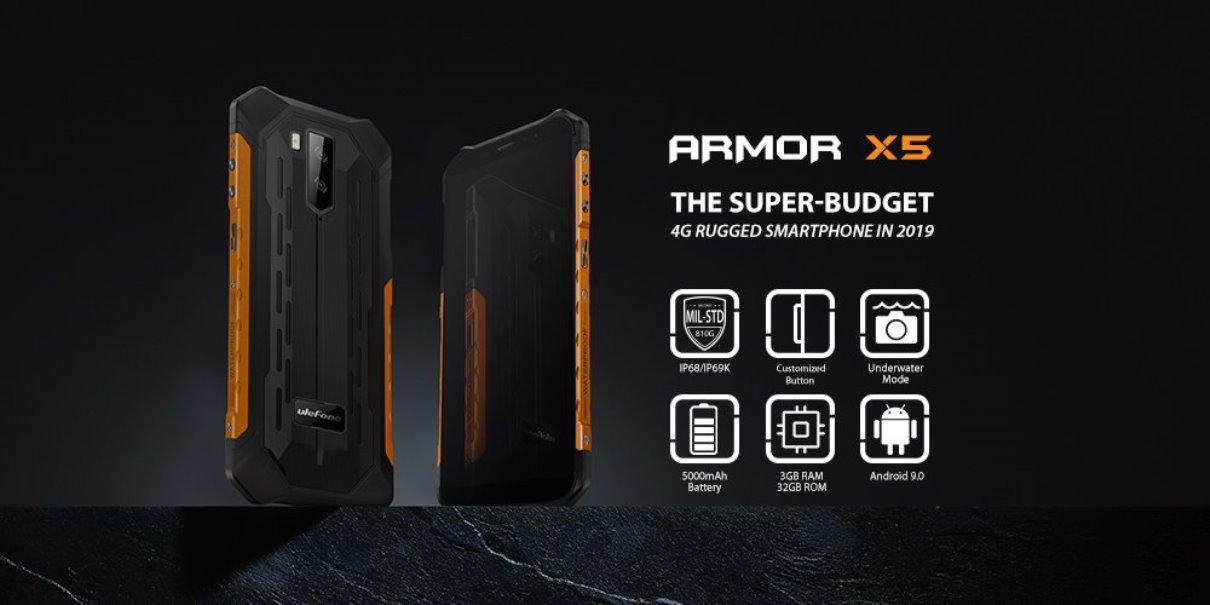 Ulefone Armor X5 je odolná novinka za rozumné peníze