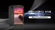Cubot KingKong Mini – 4palcový cvalík pro nenáročné