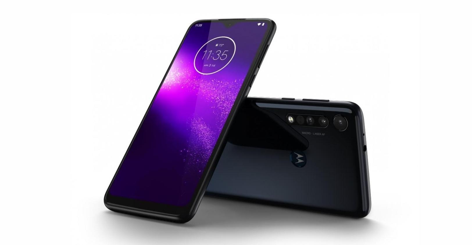 Motorola One Macro láká na focení makro snímků