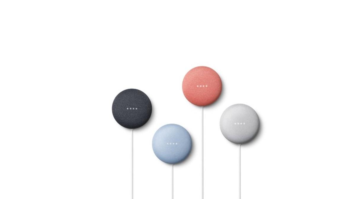Google představil Nest Mini, malý chytrý reproduktor